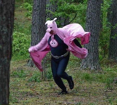 superpig pig superhero