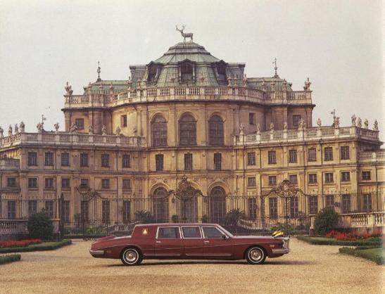 Omar Bongo Stutz Royale Gabon limo velvet crib