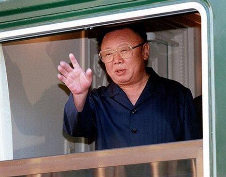 kim jong il riding the choo choo train