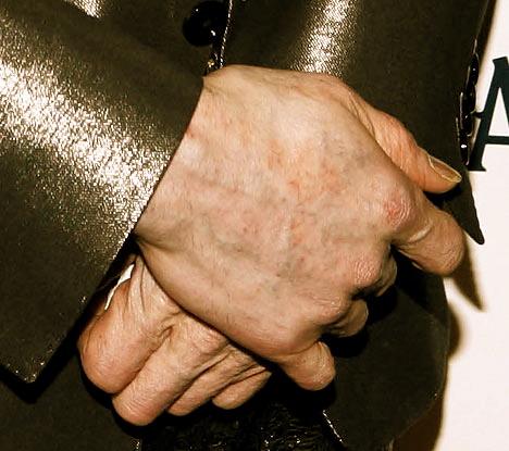 michael jackson hands
