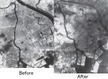 Tokyo-kushu-hikaku firebombing damage