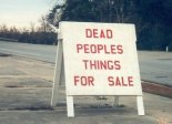 dead people things